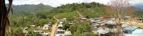 vista panorámica de Condado de Pichanaki