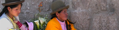 mujeres de Pisac