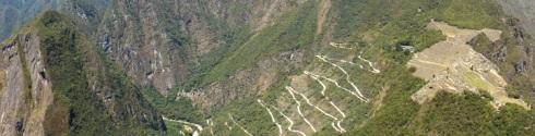 carretera a Machu Picchu