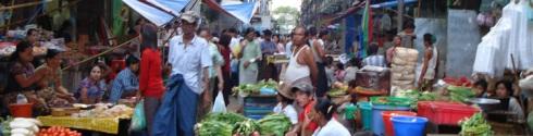 mercados de Yangon